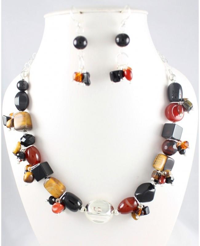 gran venta cbbf6 74125 Collar Piedras Grandes